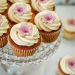 Rhubarb & Custard Cupcakes
