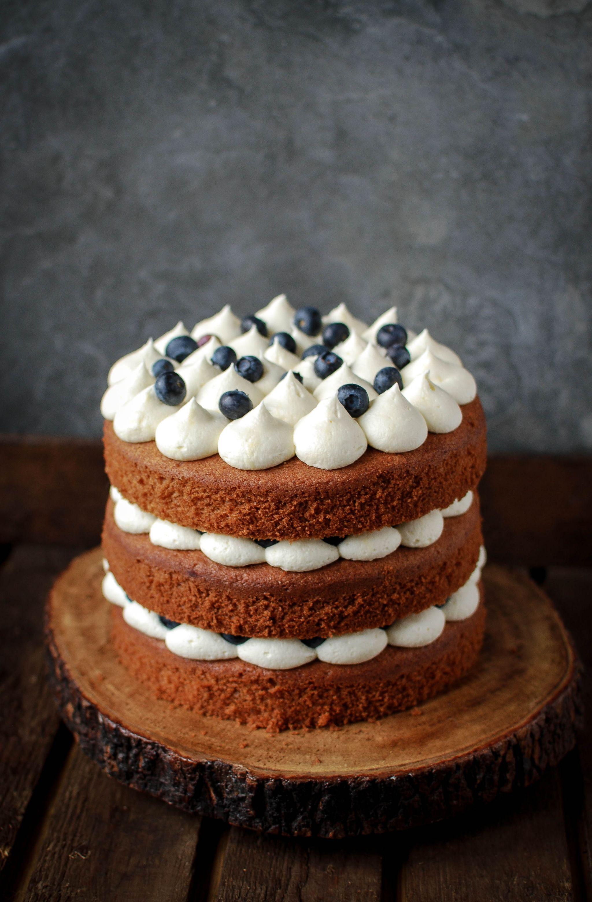 Earl Grey And Blueberry Cake Recipe Katiecakes