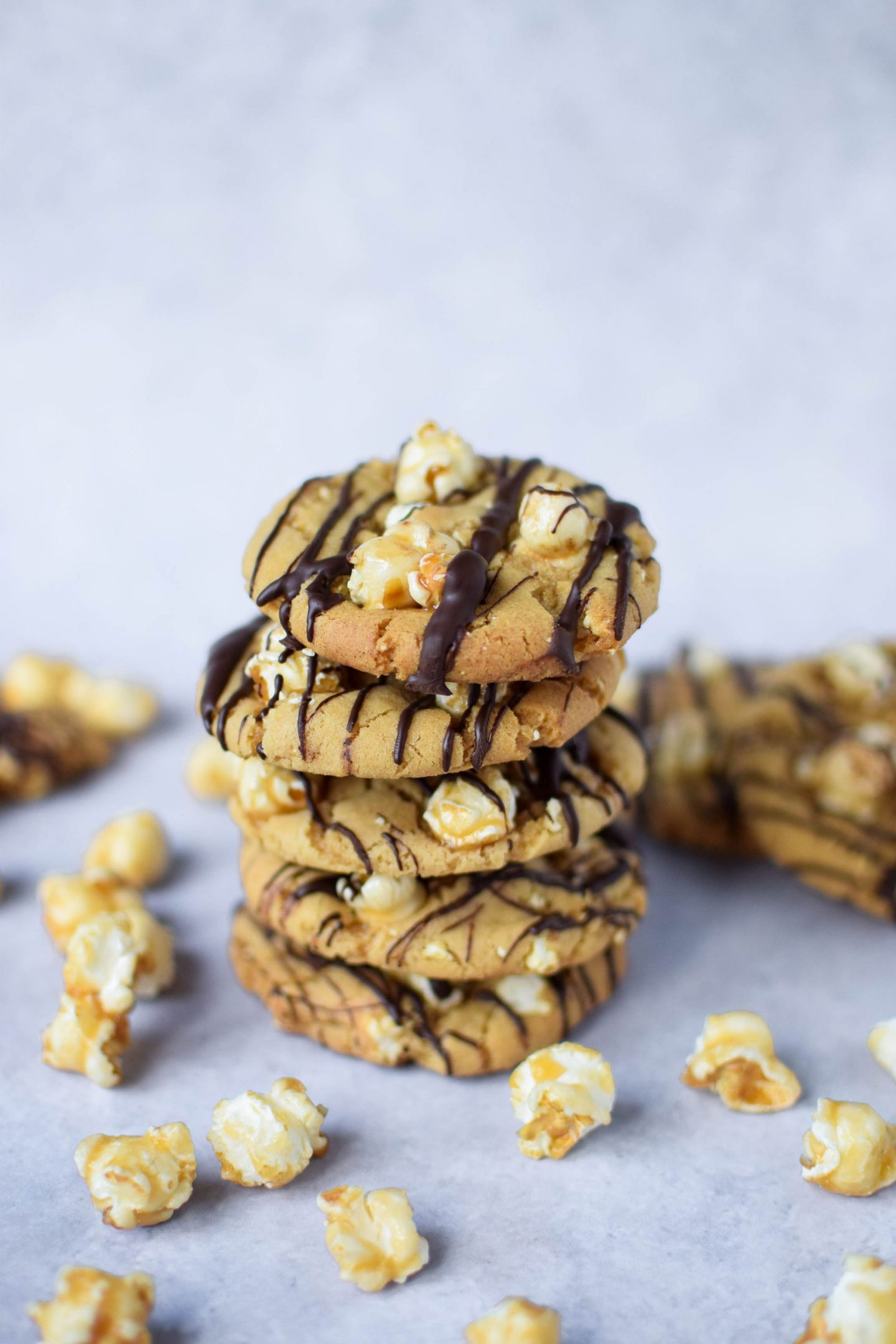 Toffee Popcorn Cookies
