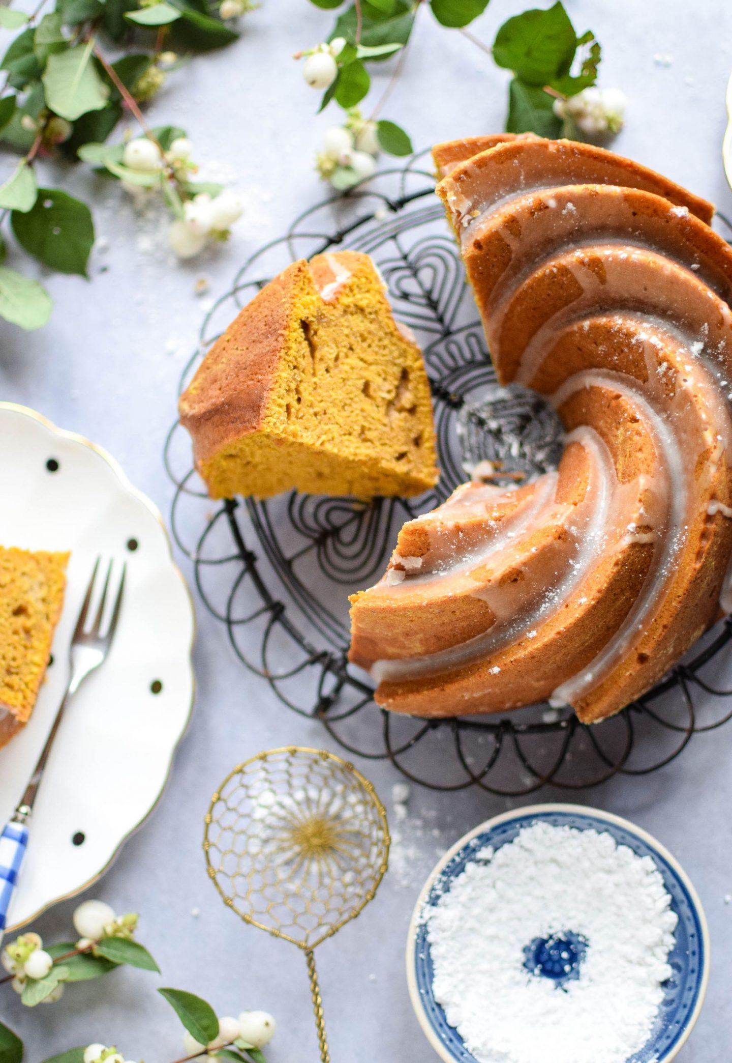 Pumpkin Spice Bundt Cak