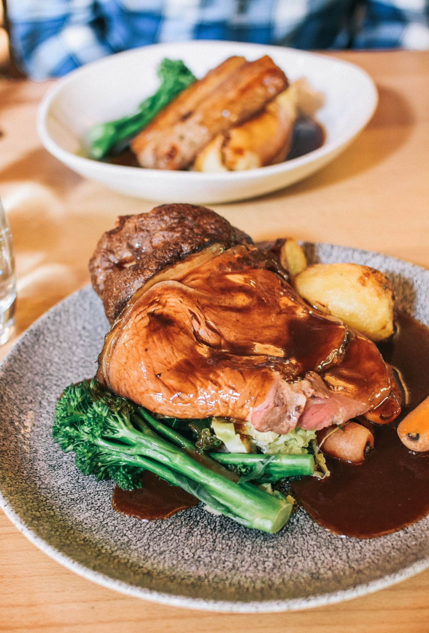 Sunday lunch at the Treehouse Restaurant Alnwick