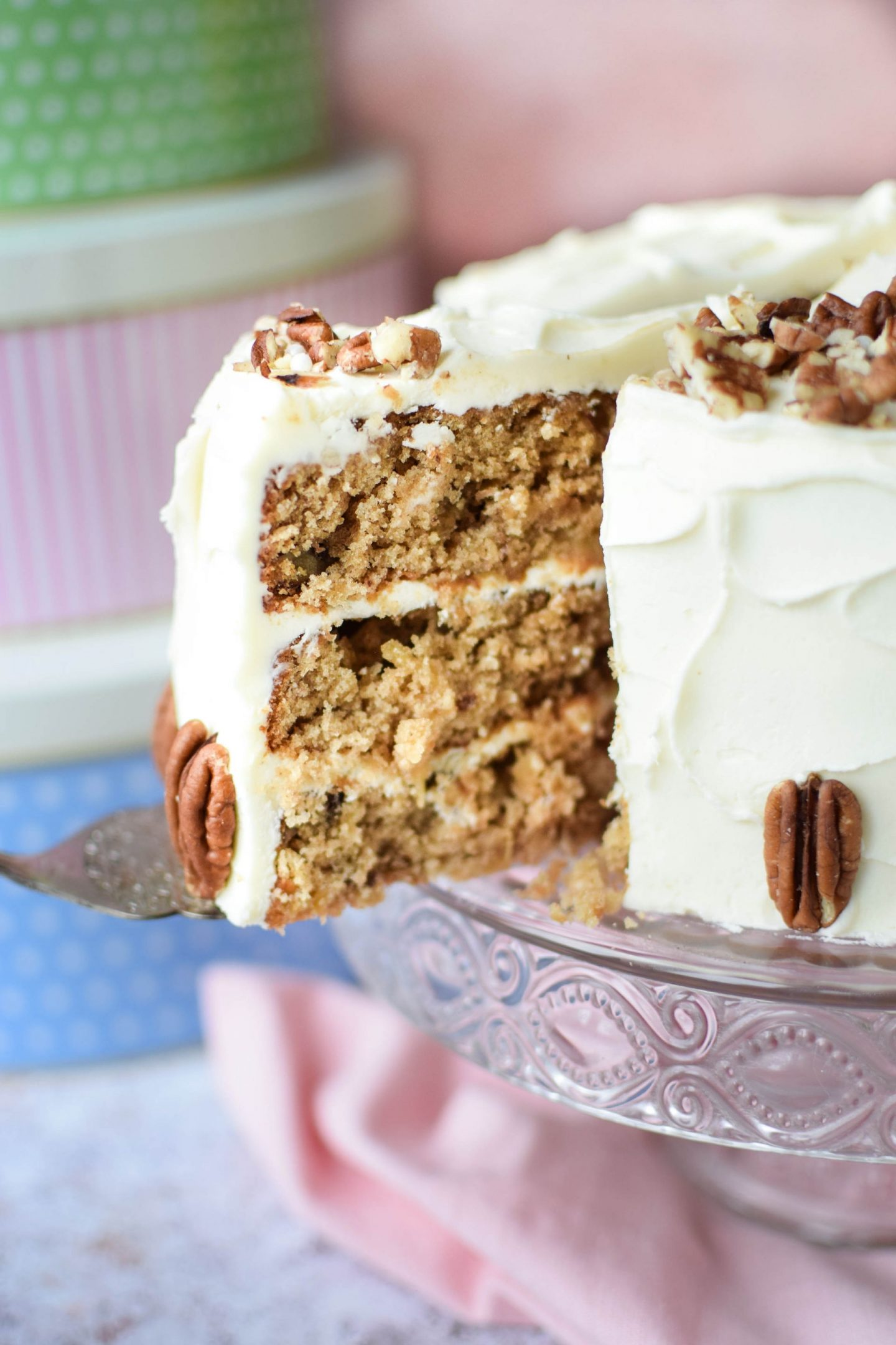 Hummingbird Cake with Tala